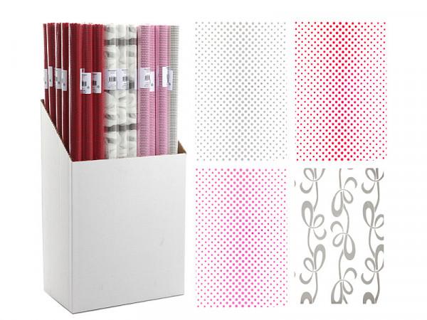 Geschenkpapier FOLIE Polyester bunt Cepewa 91077 (BT 70x200 cm)