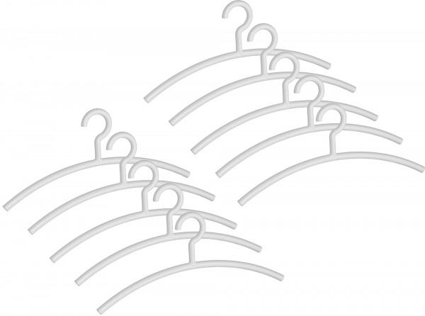 Garderobenbügel Typ Mir transparent 45 cm breit modernes Design
