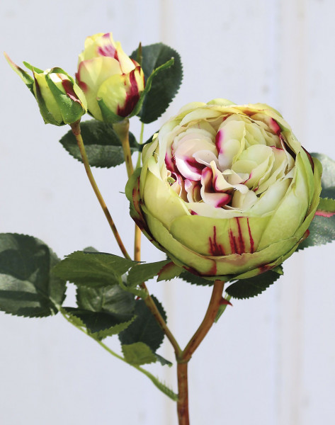 Kunstblume ROSE gelb