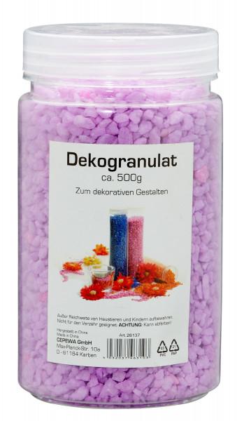 Dekogranulat BASIC pink Steingut pink Cepewa 26137