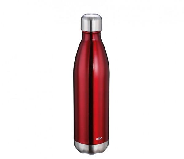 Isolierflasche ELEGANTE rot