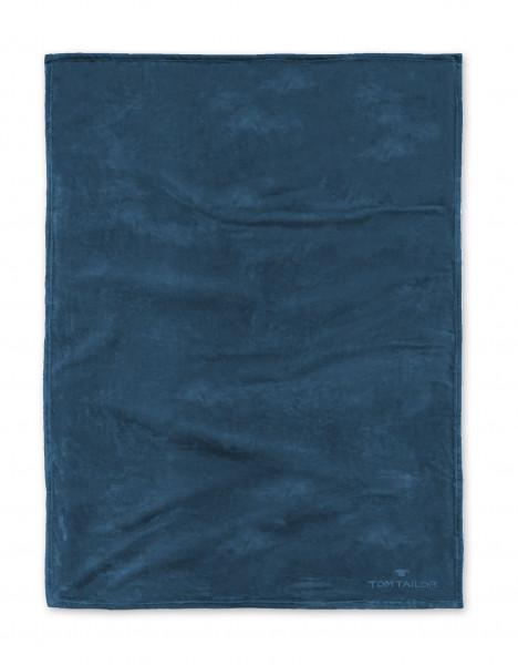Wohndecke TOM TAILOR blau