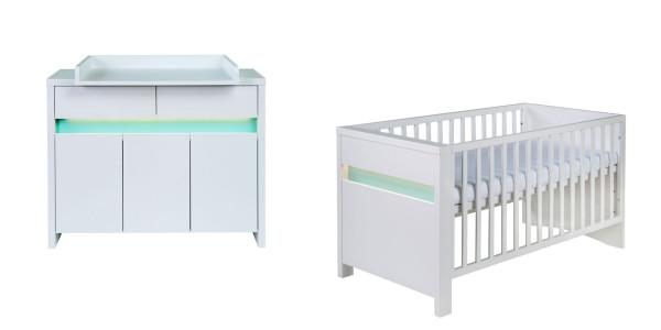 Babyzimmer PLANET türkis