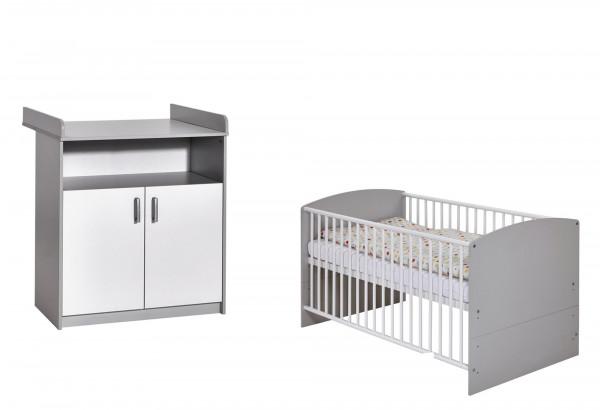 Babyzimmer CLASSIC grey