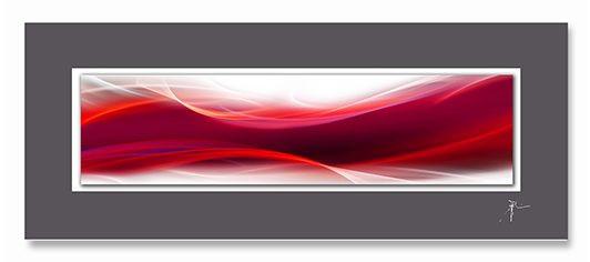 Acrylglasbild auf Aludibond (LB 125x50 cm)