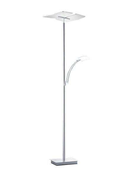Stehleuchte Metall grau B-LEUCHTEN 60245/2-92 (H 182 cm)