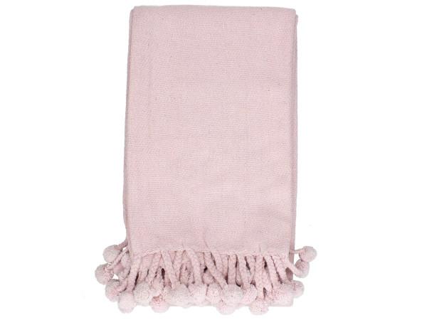 Plaid pink (BL 130x170 cm)