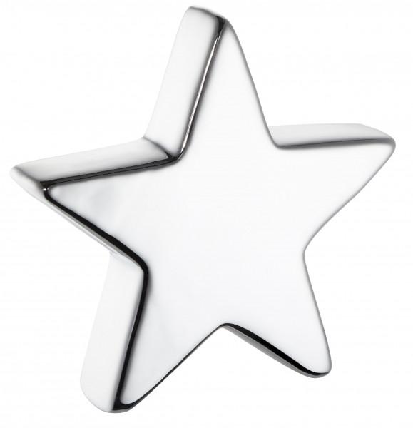 Dekostern STAR silber Dolomit grau Cepewa 50829 (BHT 7x7x2 cm)
