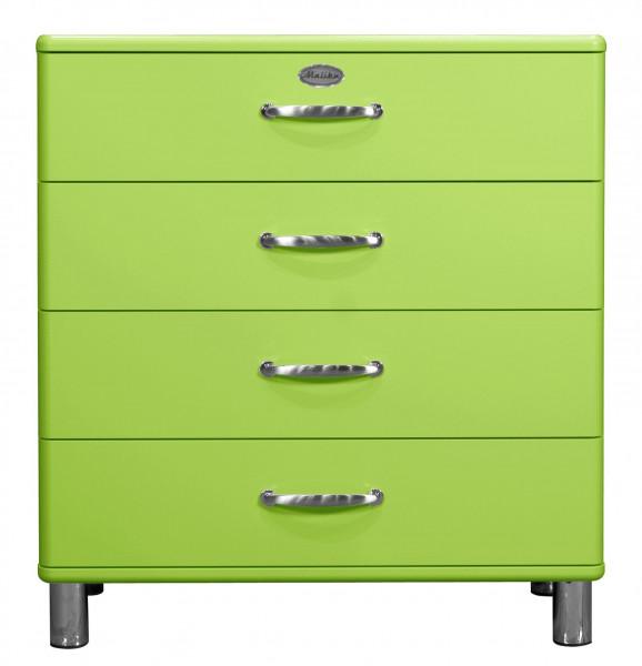 Kommode Malibu 5124 Holz grün Tenzo 5124-021 (BHT 86x92x41 cm)