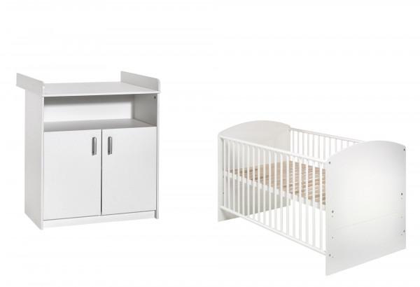 Babyzimmer CLASSIC white