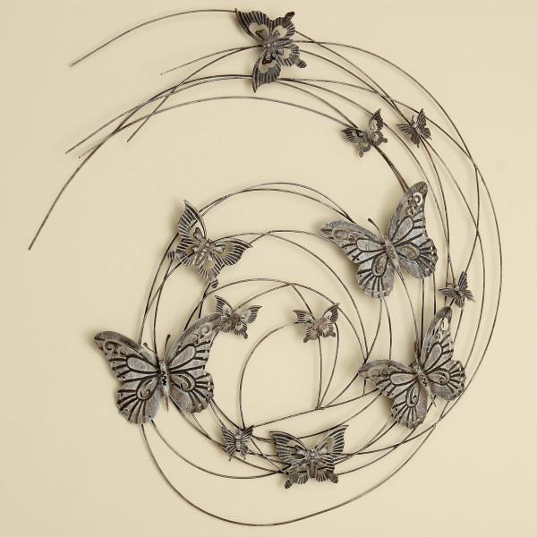 Wand Objekt Schmetterlinge