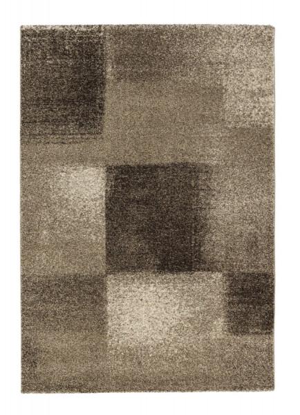 Teppich SAMOA/Karo braun Acryl braun GOLZE & SÖ 151-060 120 (LB 120x180 cm)