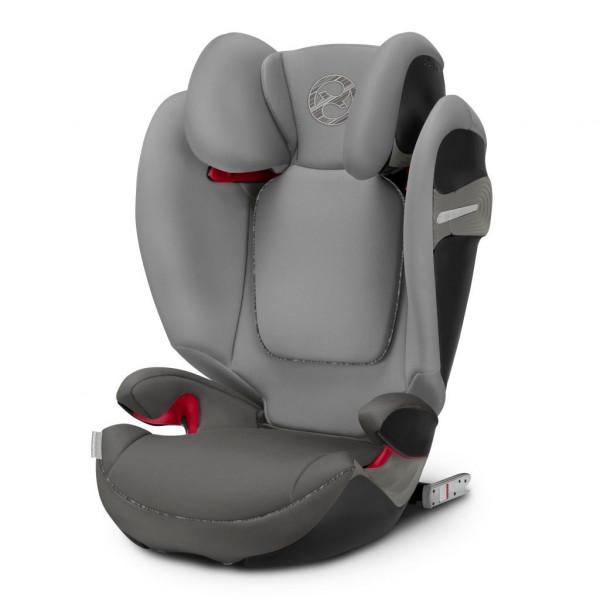 Autositz SOLUTION S-FIX Kunststoff grau COLUMBUS T 519001058 (BHT 50x61x40,5 cm)
