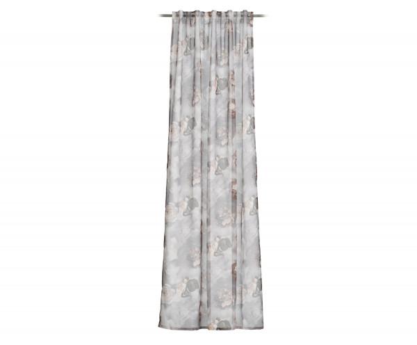 Schlaufenschal ABILENE silber (BH 140x255 cm)