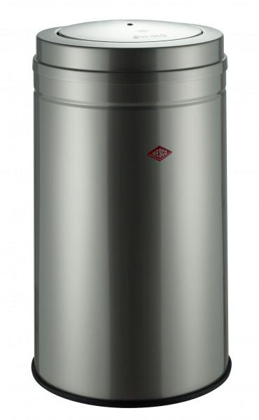Abfalleimer BIG SWING silber Metall grau WESCO 350931-03 (DH 45x76 cm)